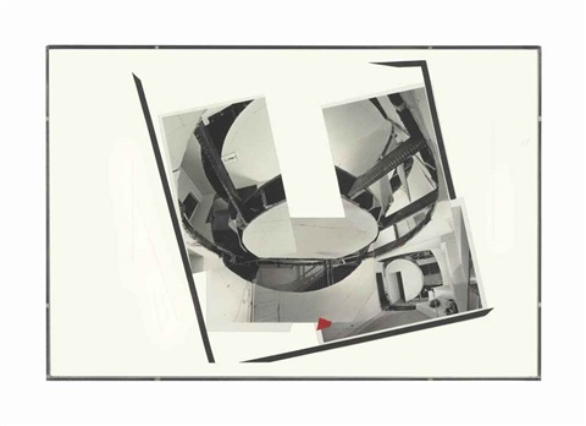 collage for exhibition installation by gordon matta clark