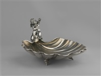 dish in the form of a shell by julius alexandrowitsch rappoport