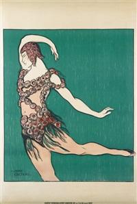 théatre de monte carlo, ballet russe, nijinsky by jean cocteau