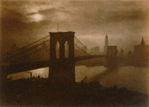 city of golden dreams brooklyn bridge by george w french