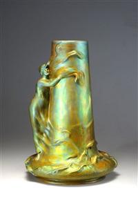 große vase by lajos mack