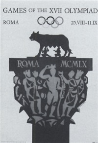 games of the xvii olympiad - roma by armando testa
