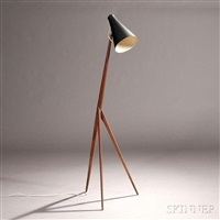 luxus floor lamp by östen kristiansson