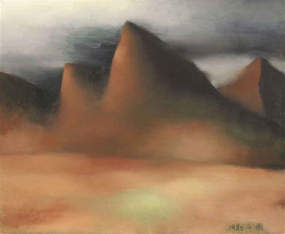 mountains by zhou chunya