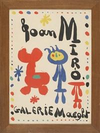 joan miró. galerie maeght by joan miró
