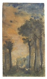 untitled (trees) by rabindranath tagore