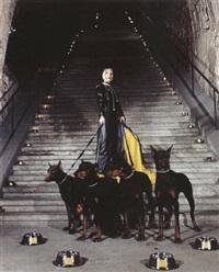 autoportrait aux chiens by art orienté objet