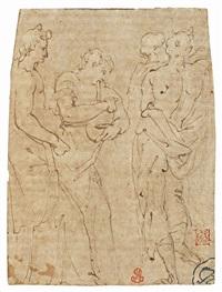 quattro figure maschili by jean cousin the elder