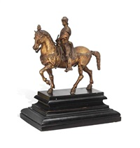 model of the colleoni equestrian monument by andrea del verrocchio and alessandro leopardi