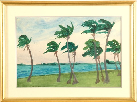 the nine palms by jane peterson