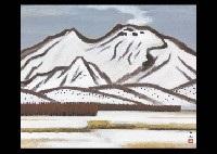 mountain snow by kyujin yamamoto