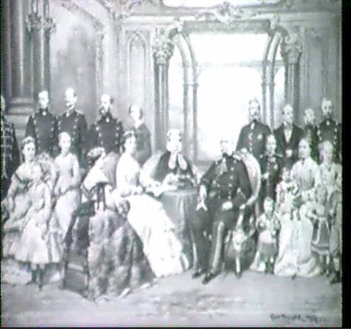 kaiser wilhelm i im kreise familie by carl johann arnold