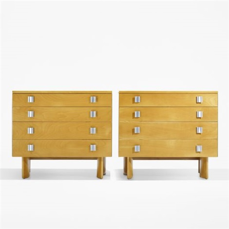 dressers pair by j robert swanson pipsan swanson saarinen and eliel saarinen