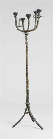 grande candélabre au navigateur by diego giacometti