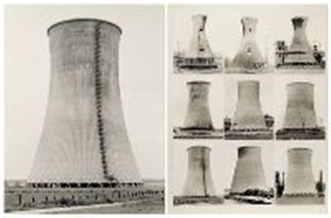 torri di raffreddamento 2 works by bernd and hilla becher