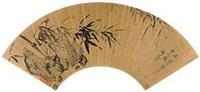 竹石图 by xiang yuanbian