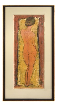 standing nude by angel botello