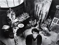 giacometti dans son atelier by robert doisneau