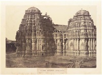 hurulhully. the temple of someshwur, pl.xxxii (from architecture in dhawar and mysore) by william henry pigou