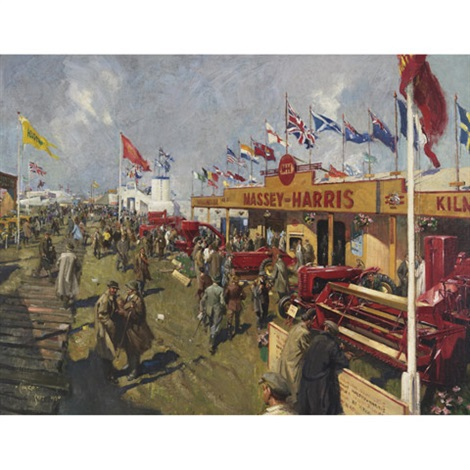royal show by terence cuneo