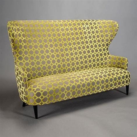 Contemporary Wingback Sofa By Tom Dixon, Wing Back Sofa