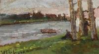 in riva al fiume by ulvi liegi (luigi levi)