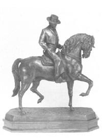 jinete cartujano a caballo by eduardo soriano menendez