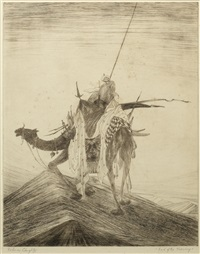 end of the journey by abdur rahman chughtai