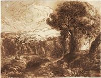 paesaggio by claude lorrain
