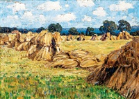 haystacks by carl arp
