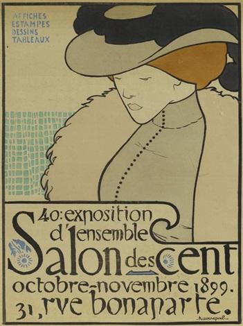 le salon des cent by henri evenepoel