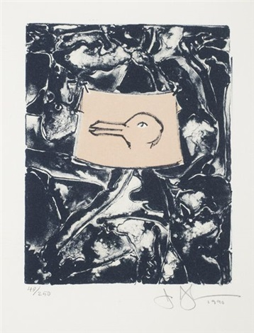 untitled (from harvey gantt portfolio) by jasper johns