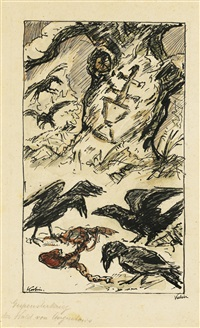 der wald von augustowo (the forest of augustow) by alfred kubin