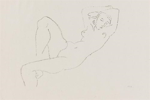 nu allongé by henri matisse