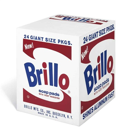 brillo soap pads by andy warhol