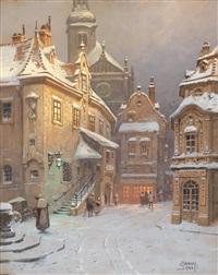winterabend und sommernacht (2 works) by georg janny