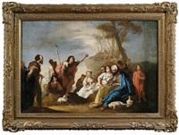die predigt johannes des täufers by francesco zugno the younger