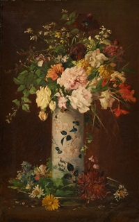 composition florale by jules félix ragot
