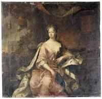 portrait of sophia dorothea, queen of prussia by herman hendrik quiter