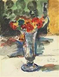 blumen in einer vase (flowers in a vase) by lovis corinth