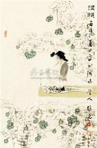 清韵图 by kong weike