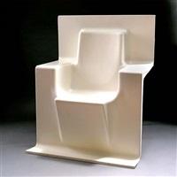 prototyp-sitzelemente für die sitzreihen-installation im karmeliterkloster (+ 2 others; set of 3) by ginbande design
