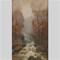 rushing water by william edwin atkinson