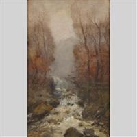 rushing water by william edwin atkinson