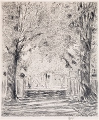 an easthampton idyll by childe hassam
