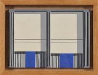 dark grey-light-grey-cobalt blue by michael vinson clark