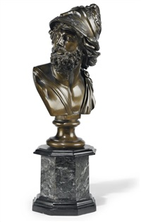 bust of ajax by benedetto boschetti