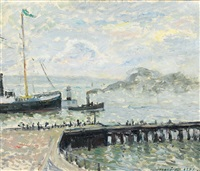 le port du havre by maxime maufra
