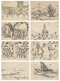 postkartenalbum (23 works) by roberto marcello baldessari