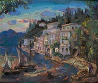 varenna, lake como by josephine haswell miller